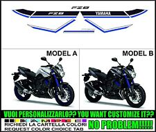 kit adesivi stickers compatibili  fz8 blu race 2015