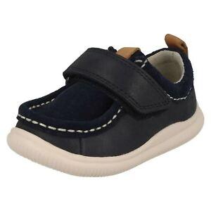 Casual Niño Clarks De Cierre Adhesivo Infantil Bebé Zapatos Verano Cuero Nube qX5Uwn