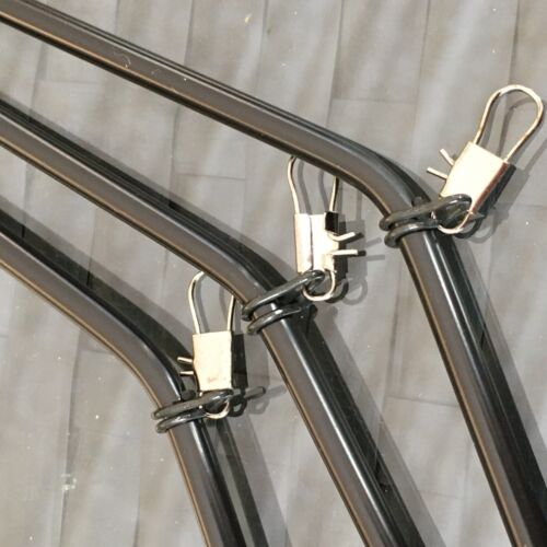 10 Stück Feeder Boom Antitangle Anti Tangle grün schwarz camou transparent NEU