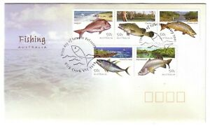 2003-FDC-Australia-Fishing-034-Fish-034-PictFDI-034-FISH-CREEK-034