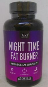 Night Time Fat Burner Appetite Suppressant And Weight Loss 60 Capsules