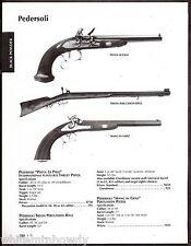 2003 PEDERSOLI Pistol Le Page, Tryon Percussion Rifle Mang in Graz Percussion AD