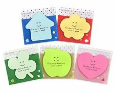 Ds Distinctive Style 20 Packs Self Sticky Notes Cute Memo Pads Bright Colors