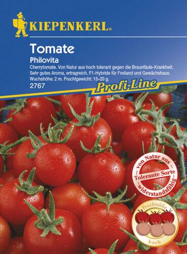 Tomate Cherrytomate MHD 01//22 Kiepenkerl 2767 Philovita F1