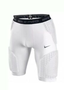 371a46aa099 Details about New Nike Pro Combat Hyperstrong Padded FB Compression Shorts  White 467900-101