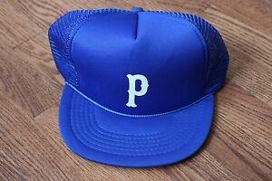 Vintage-Mesh-Royal-Blue-P-034-Trucker-Cap-Hat-Snapback