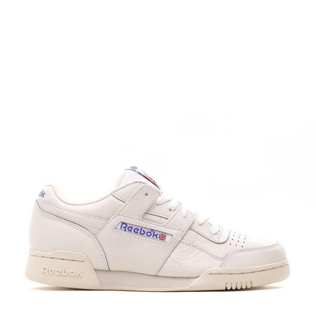 Reebok Workout Plus Vintage Sneakers In White BD3386 | ASOS