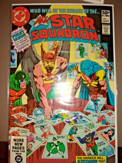 ALL-STAR SQUADRON #1 (1981) - NM - BRONZE AGE KEY- CGC IT! - FREE PRIORITY