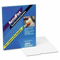 Clear Top With White Backing - Letter 8.50 X 11 - Acetate - Clear (099dc)