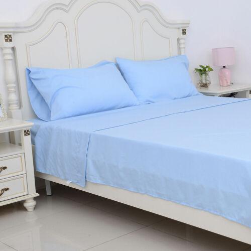 Home Decor homesmart Blue Bamboo Blend 4 Pc Sheet Set King Extra Deep Pocket