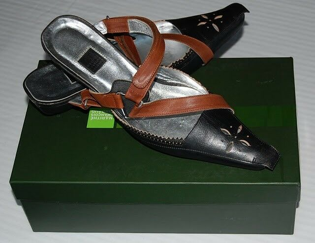 AUTHENTIC  M.F. Girbaud Girbaud M.F. Leather shoes Made in Italy, European size 38 aea6c0