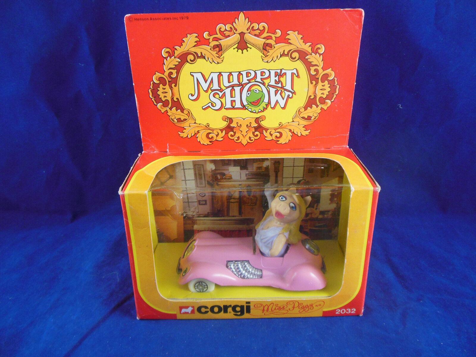 Corgi 2032 Muppet Show Miss Piggy's Sports Car