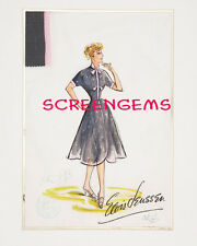 Lucille Ball I Love Lucy rare photo of original costume design by Elois Jenssen