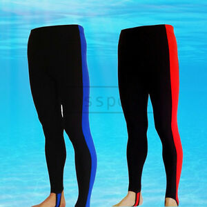 8af8f49a8f94f Image is loading Lycra-Diving-Pants-Surfing-Swimming-Anti-UV-Wetsuit-