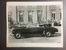 1958 Mercedes-Benz 300 D Cabriolet Press Photo Foto LS Top Down RARE!! Awesome