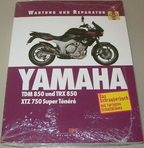 Trx 850 Xtz 750 Super Tenere Ténéré Neu WunderschöNen Reparaturanleitung Yamaha Tdm 850 Klar Und Unverwechselbar