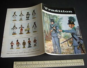 "Vintage 1970s ""Tradition"" #63 Superb Model Soldier & Military History Magazine"