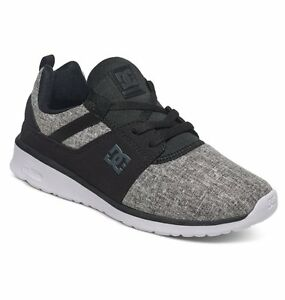 Image is loading DC-SHOES-WOMENS-TRAINERS-NEW-HEATHROW-SE-GREY-