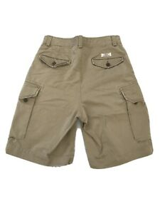 Polo-Ralph-Lauren-Tyler-Short-Mens-Khaki-Beige-Cargo-Chino-Shorts-Size-31