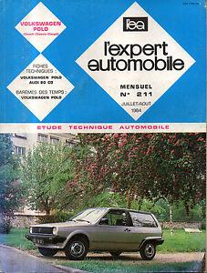 Original Rta Revue Technique Automobile N° 211 Volkswagen Polo