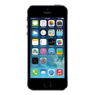 APPLE iPHONE 5s - 16 GB - SPACEGRAU, WIE NEU , OHNE VERTRAG, FREI VOM WERK !