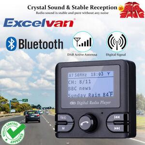 Digital-In-Car-DAB-DAB-Radio-Adapter-Bluetooth-Handsfree-Calling-Dual-USB-TF-AUX
