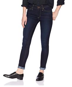 Vintage America bluees Women's Wonderland High Rise Skinny Jean, Café Riche, 14