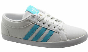 8d7464101ee Image is loading Adidas-Originals-Adria-Plimsole-3S-Womens-Trainers-White-