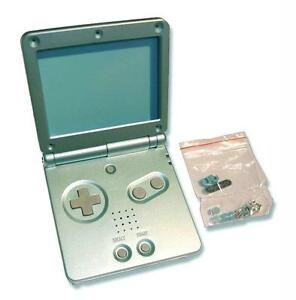 GameBoy-Game-Boy-Advance-GBA-SP-Pearl-Blue-Replacement-Shell-Housing-w-Tools-UK
