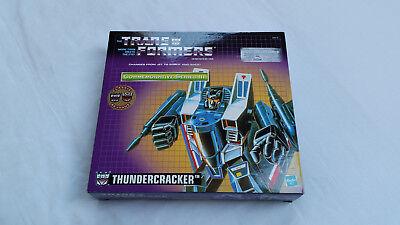 *** Transformers Riemettere Thundercracker Nuovo In Scatola Sigillata ***-mostra Il Titolo Originale