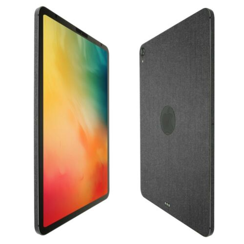"Skinomi Brushed Steel Skin+Clear Screen Protector For Apple iPad Pro 11/"" 2018"