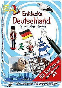Entdecke Deutschland!: Quiz - Rätsel - Infos von Bachman... | Buch | Zustand gut