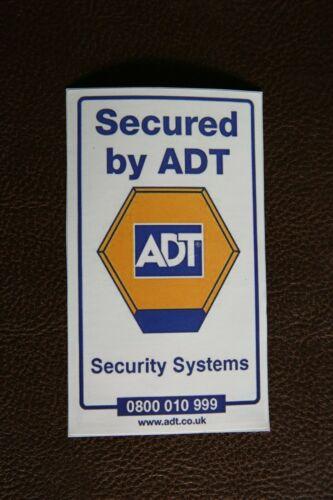 ADT Exterior Sticker for Burglar Alarm Box Stickers Dummy Office Home Window