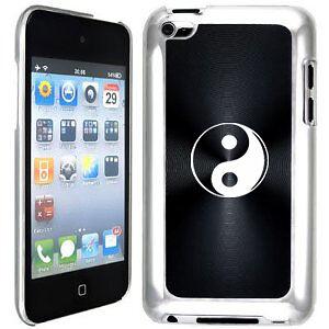 Black-Apple-iPod-Touch-4th-Generation-Hard-Case-Cover-B385-Yin-Ying-Yang