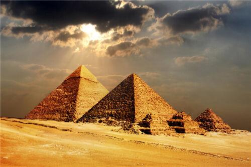 New 1000Pcs Egypt Khufu Pyramid Landscape Wooden Jigsaw Puzzle Assemble Toy