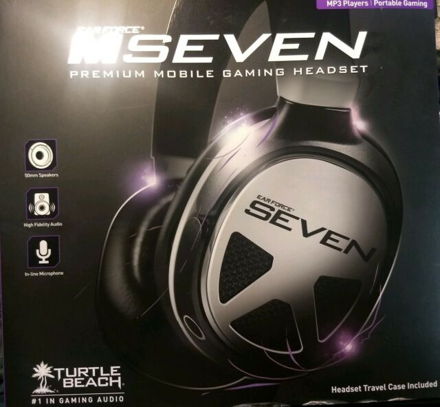 *NEW* Turtle Beach  Ear Force MSeven Premium Gaming Headset