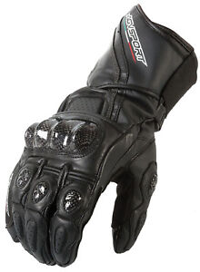 New-AGVsport-Intrepid-Leather-Motorcycle-Racing-Gloves-Carbon-Armour-Knuckles