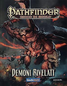 Pathfinder - Demoni Rivelati GdR Manuale NUOVO Italiano Spedizione 24h