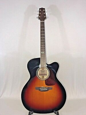 Musical Instruments & Gear Guitars & Basses Takamine Gj72ce-bsb Acoustic/electric Guitar Brown Sunburst To Produce An Effect Toward Clear Vision