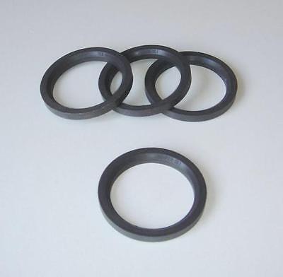 4 Centre Spigot Rings 70.1mm Dotz Dezent to fit VW Polo
