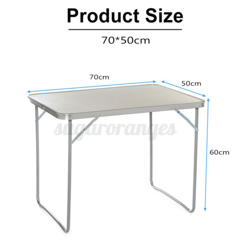Portable Aluminum Folding Table In//Outdoor Picnic Party Dining Camping Tabl