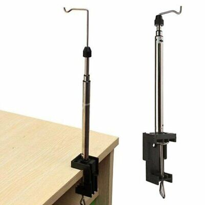 BRAND NEW TELESCOPIC HANGING STAND 550 MM CRAFT TOOLS ACCESSORIES DESK CLAMP P47