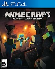 Minecraft -PlayStation 4 Brand New Ps4 Games Sony Factory Sealed Free Shipping