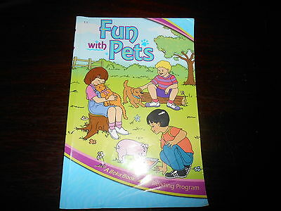 FUN WITH PETS ABeka Book 1st gr reader homeschooling