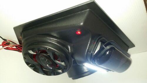 "Overhead Stereo Radio Console UTV Polaris RZR Ranger General 6.5/"" Speakers! NEW"