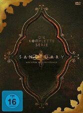 19 DVD-Box ° Sanctuary ° Superbox komplett ° NEU & OVP ° Staffel 1 - 4