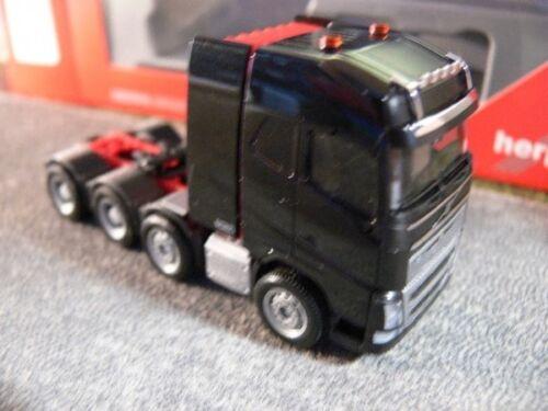 Schwerlast-ZM schwarz 4-Achs 304788-002 1//87 Herpa Volvo FH 16 Gl