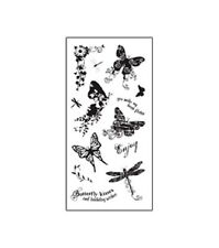 Fiskars Clear Stamps - Butterfly Magic  #299