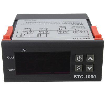 New Mini 220V STC-1000 All-Purpose Temperature Controller Thermostat With Sensor