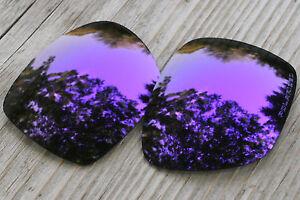 Polarized Dark Purple Mirrored Sunglass Lenses For Oakley